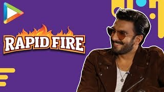 Ranveer Singh SLAYS in this exciting RAPID FIRE | Sara Ali Khan | Simmba