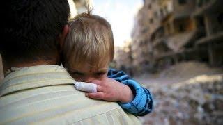 Suriye'de keskin nişancı kurbanı çocuklar - BBC TÜRKÇE