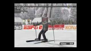 ESPN International Winter Sports (Gamecube) - Slalom - 1:00.10