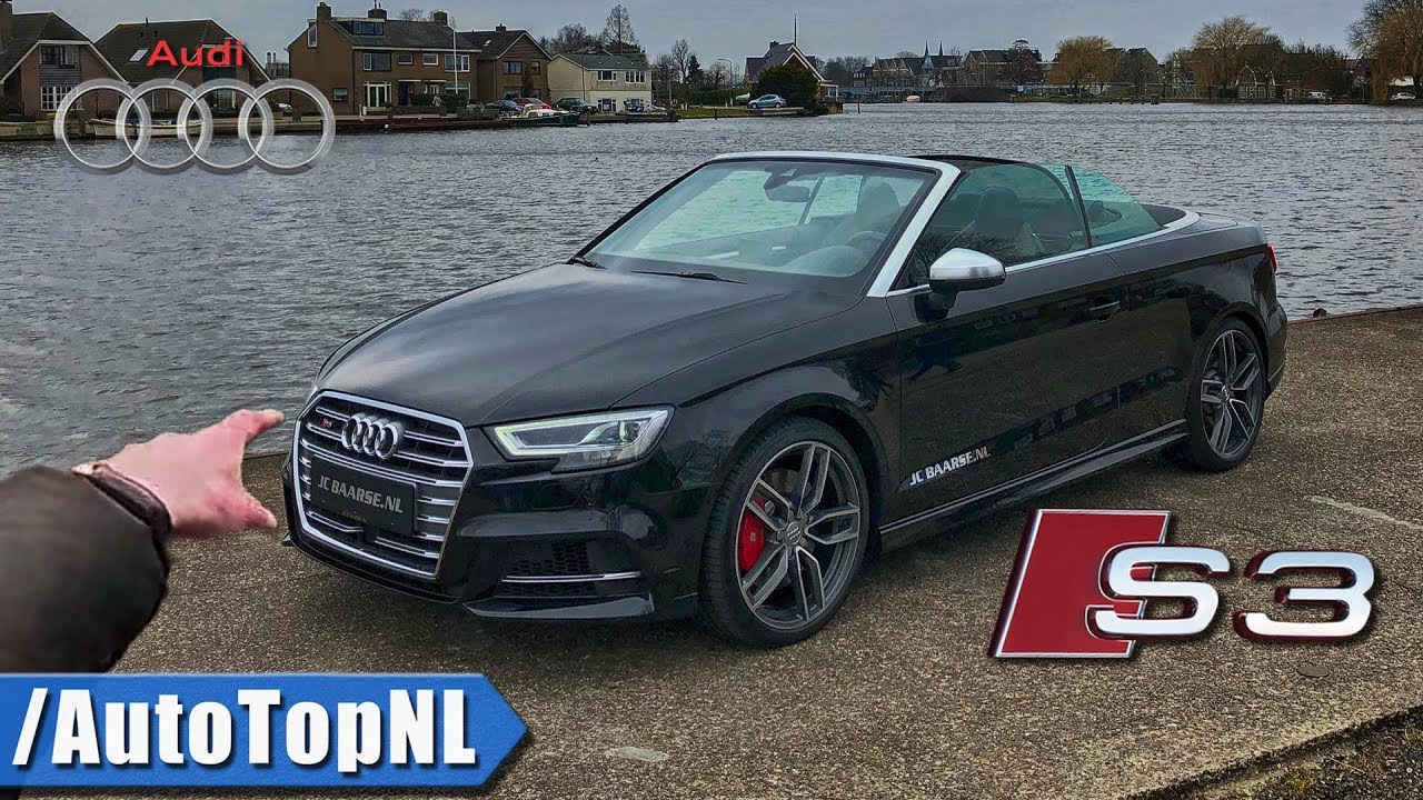 Audi S3 Convertible Review Pov Test Drive By Autotopnl