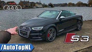 Audi S3 Convertible REVIEW POV Test Drive by AutoTopNL