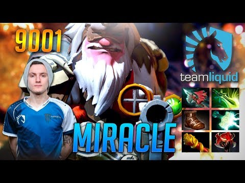 Miracle Sniper Marksman | 9001 MMR Dota 2