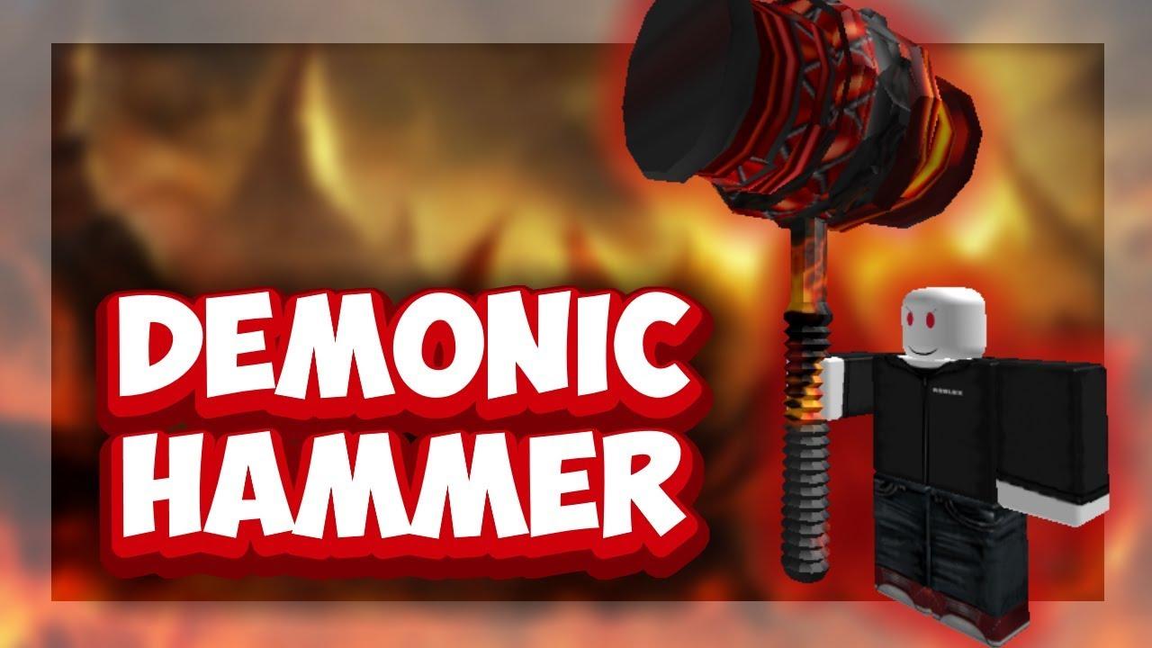 Roblox Script Showcase Episode 1083 Roblox Demonic Ban Hammer Youtube - roblox script showcase episode 1083 roblox demonic ban hammer