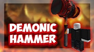 Roblox Script Showcase Episode#1083/Roblox Demonic Ban Hammer