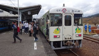 【全区間走行音】土佐くろしお鉄道宿毛線TKT8000形 宿毛→中村 2019.1.5