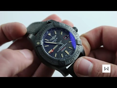 Breitling Avenger Blackbird Ref. V17311 Watch Review
