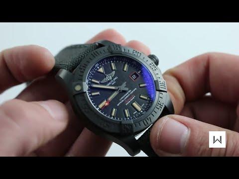5676a77c9 Breitling Avenger Blackbird Ref. V17311 Watch Review - YouTube