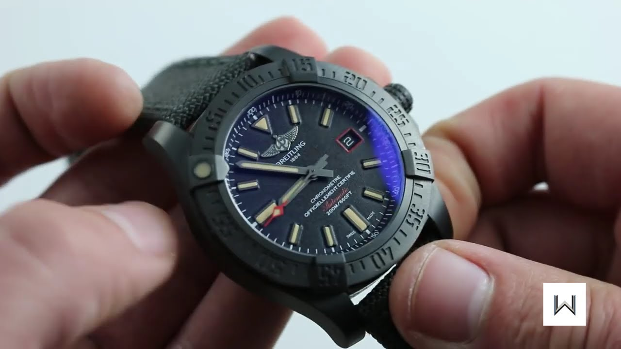 Breitling Avenger Blackbird Ref. V17311 Watch Review