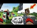 TROLLEI 3 AMIGOS QUE ESTAVAM EM LIVE! Minecraft
