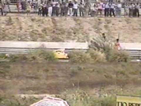 Martin Donnelly Horrific Crash 1990 Youtube