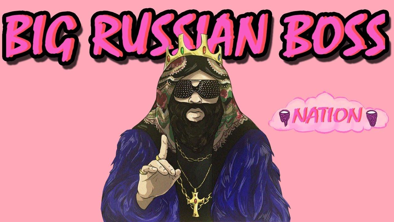 Маска босса русского рэпа вк для лиса