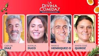La Divina Comida - Carlos Díaz, Natalia Duco, Marco Enriquez Ominami y María José Quiroz