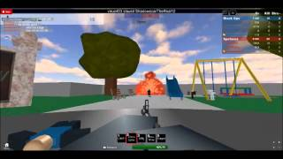 Roblox: how to be a noob on call of duty black ops!!