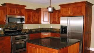 Log Home Kitchen Cabinet Ideas