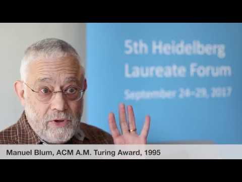 Laureate interviews at the 5th HLF: Manuel Blum