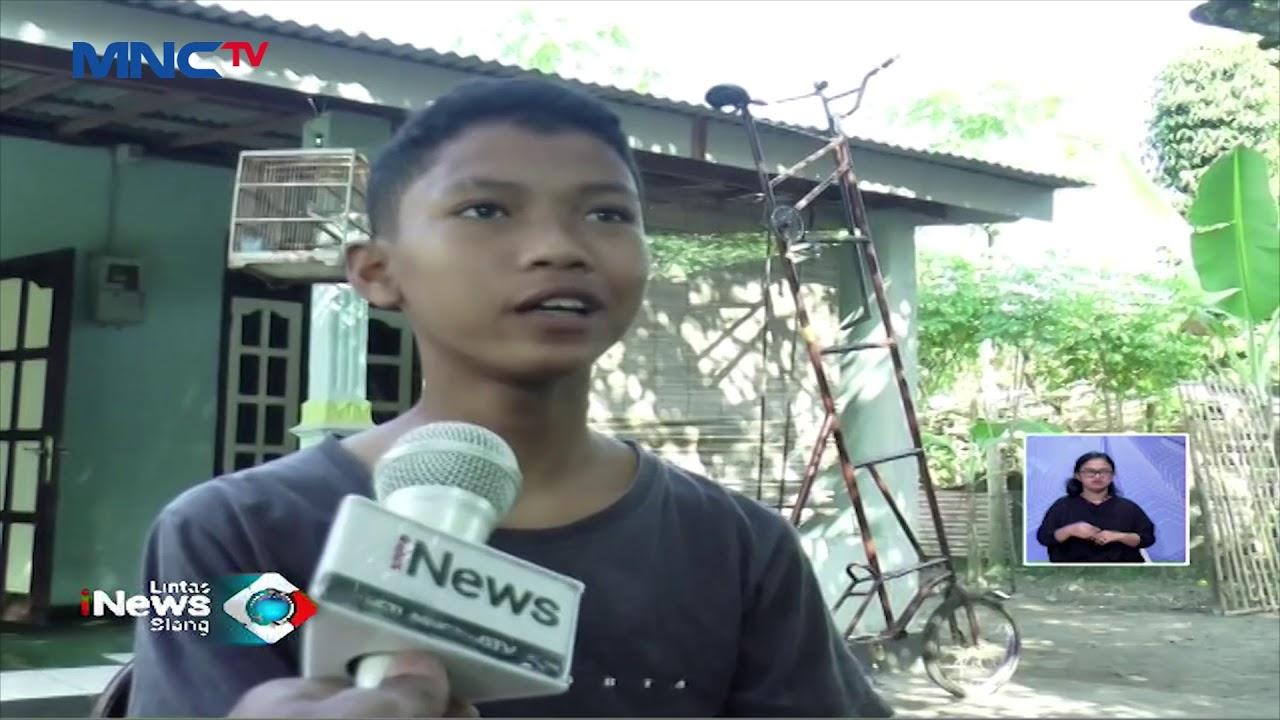 UNIK! Pelajar SMP Ciptakan Sepeda Jangkung dari Rongsokan - LIS 10/07