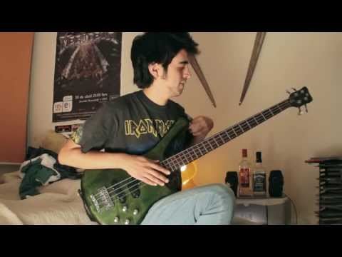 Iron Maiden - The Rime of the Ancient Mariner (bass cover)