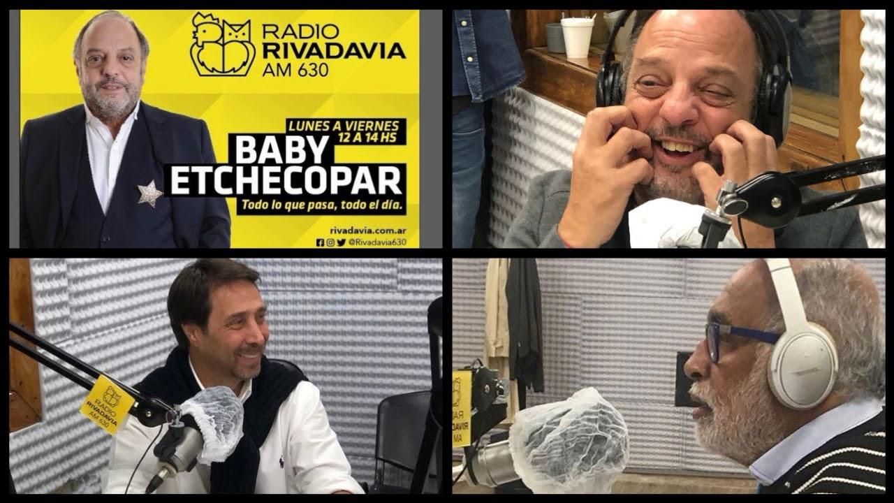 Baby Etchecopar Eduardo Feinmann Y El Negro Oro Juntos En Rivadavia Youtube