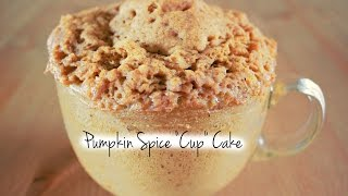 """Guiltless Pleasures Cooking Channel: Pumpkin Spice """"cup"""" Cake S2. Ep: 2"""