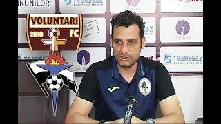 Declaraţii Mihai Teja înainte de Voluntari - Gaz Metan | novatv.ro