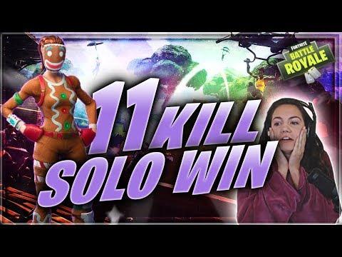 SICK WIN. I have the flu LOL   Fortnite Battle Royale   Alexia Raye