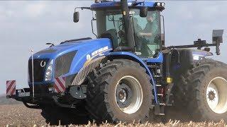 New Holland T 9- Bodenbearbeitung bei Barby