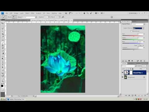 Photoshop CS4 - Phan 1 - Bai 16 - Cua so Adjustment CS4
