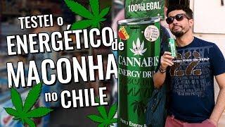 Vlog de viagem no Chile: bebida de maconha em Santiago