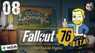 AL PARQUE ACUATICO CON AMIGOS #08 - Fallout 76 BETA - Gameplay ESPAÑOL