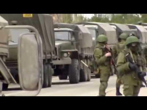 Ukraine War - Russian troops encircle Ukrainian base in Crimea Ukraine