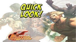 Quick Look! Capcom Fighting Evolution - YoVideogames