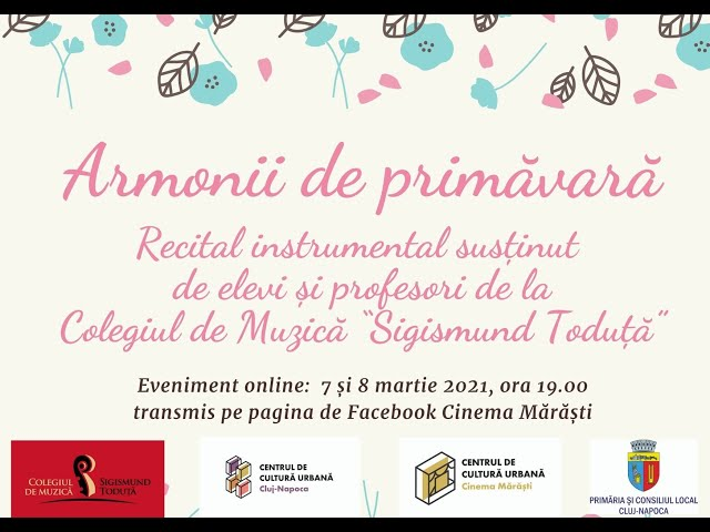 Armonii de primăvară - recital instrumental (partea a II-a)