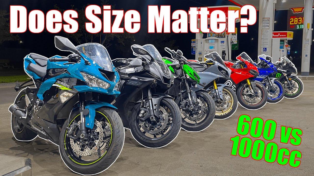 Download 600cc Riders EMBARASS Liter Bikes | 600 vs 1000cc | Yamaha R1, R6, Kawasaki ZX6R, Z1000, Ducati 1299
