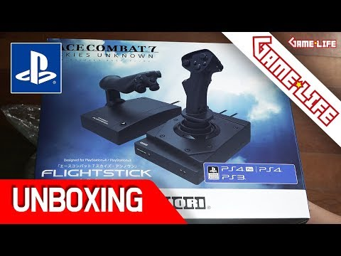 에이스컴뱃 7 호리 플라이트스틱 첫 체험!! PS4 | HORI Ace Combat 7 Flight Stick Unboxing & First Impressions!