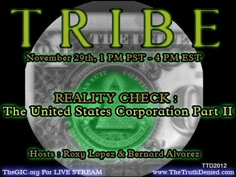 The United States of America Corporation (TRIBE TV)