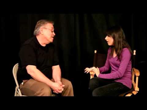 Robert Webb with Cassidy Lehrman of Entourage