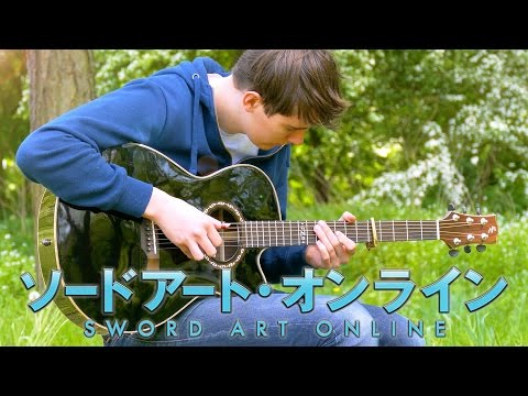 Crossing Field - Sword Art Online OP1 - Fingerstyle Guitar Cover