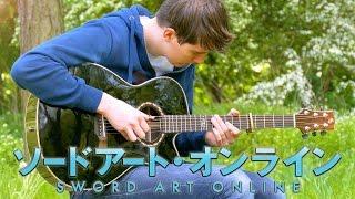 Crossing Field - Sword Art Online OP1 - Fingerstyle Guitar Cov…