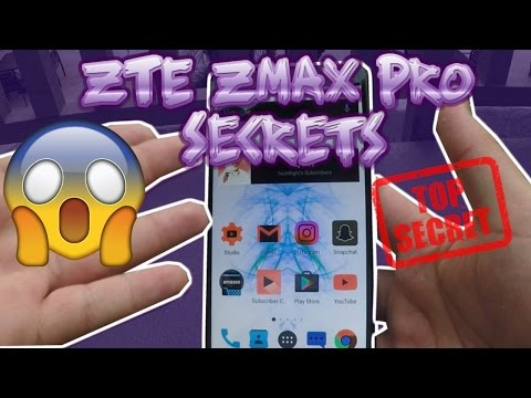ZTE Zmax Pro Secret Features!