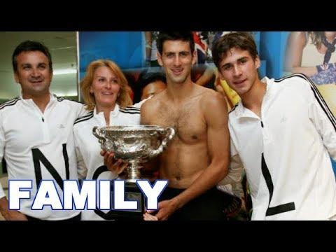 Novak Djokovic Family Photos | Parents, Brother, Wife, Son ...