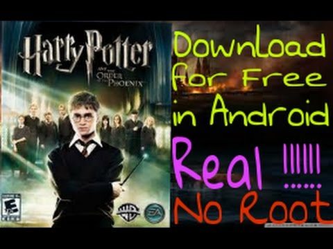How to download Harry Potter and the Order of the Phoenix for free in Android (English)