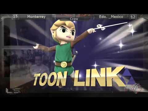 The Arena 2016 (Crew Battle) - Estado de México vs Monterrey / GRAND FINAL - Smash Wii U