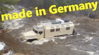 Автодом УРАЛ из Германии! Немцы сделали дом на колесах из старого военного грузовика