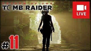 """[Archiwum] Live - Shadow of the Tomb Raider! (4) - [1/4] - """"Piranie atakują!"""""""