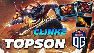 Topson Clinkz New Mid Lane IMBA | Dota 2 Pro Gameplay
