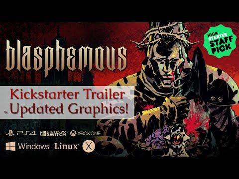 Blasphemous - Kickstarter Trailer *Re-Make*