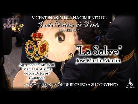 """(A.M. Dolores) """"La Salve"""" Traslado """"Santa Teresa"""" Linares 2015-by Savio"""