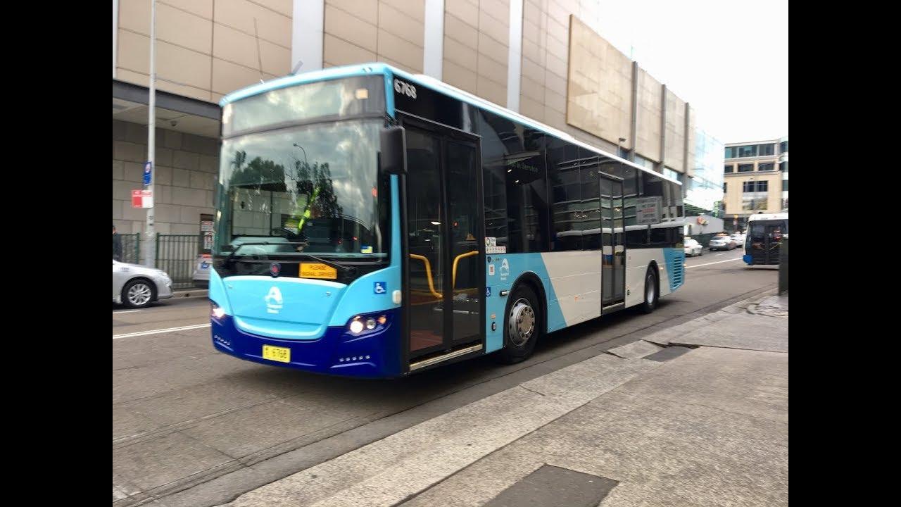transit systems sydney bus 6768 (scania k310ub - gemilang eco city