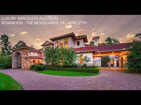 The Woodlands Houston Texas Mansion For Sale | Golf Course Property