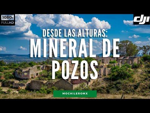 Mineral de Pozos desde las alturas | DRONE FULL HD 1080p 60fps | MOCHILEROMX